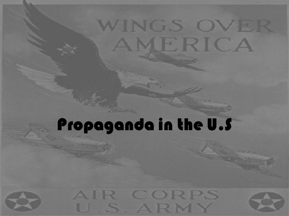 Propaganda in the U.S