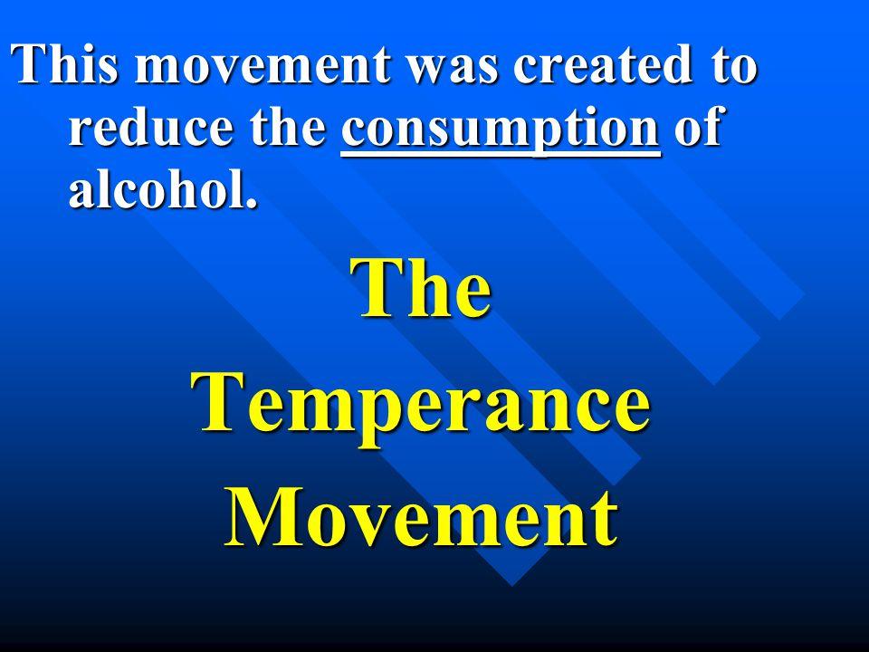 TheTemperanceMovement