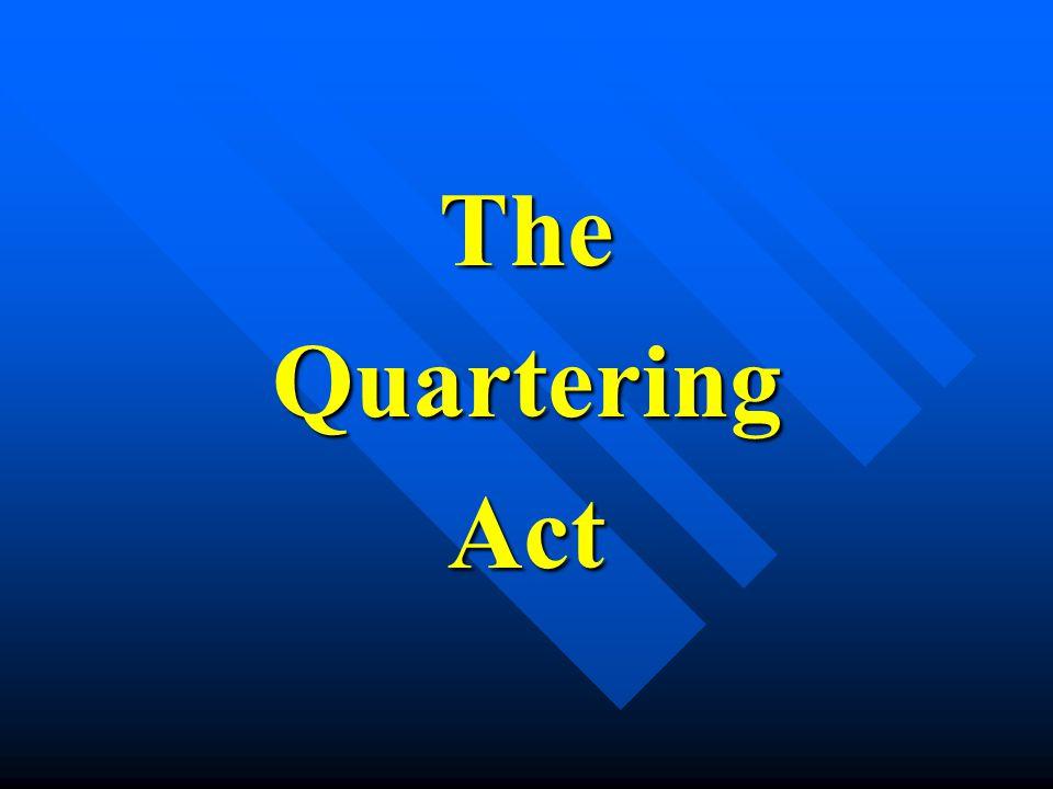 TheQuarteringAct