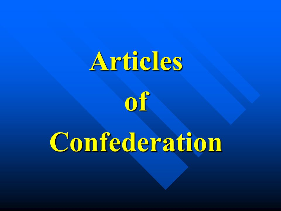 ArticlesofConfederation