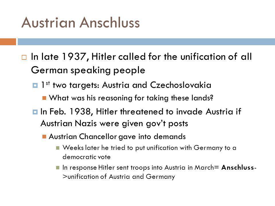 Austrian Anschluss