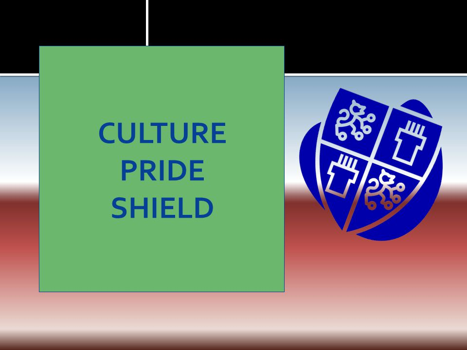 CULTURE PRIDE SHIELD