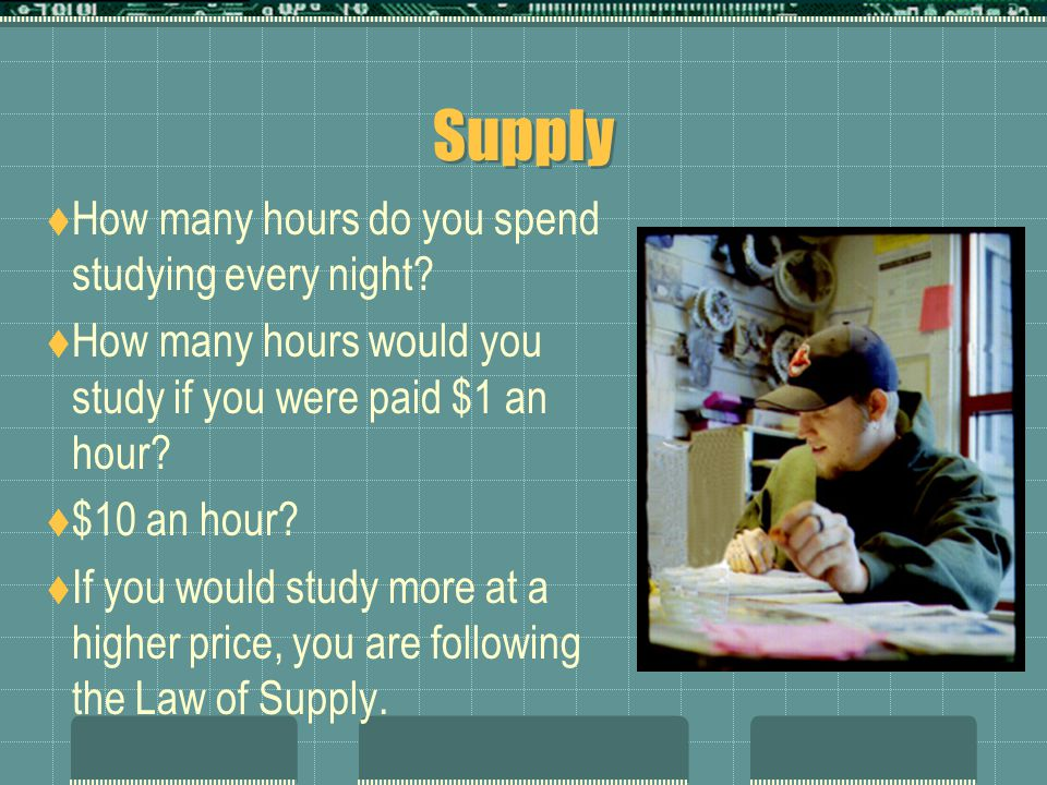 What is Supply