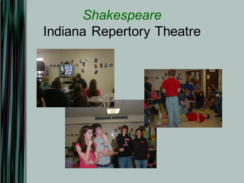 Shakespeare Indiana Repertory Theatre