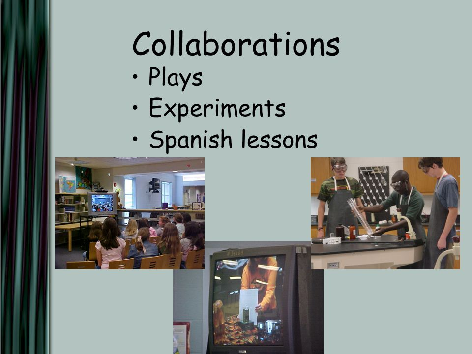Collaborations Plays Experiments Spanish lessons