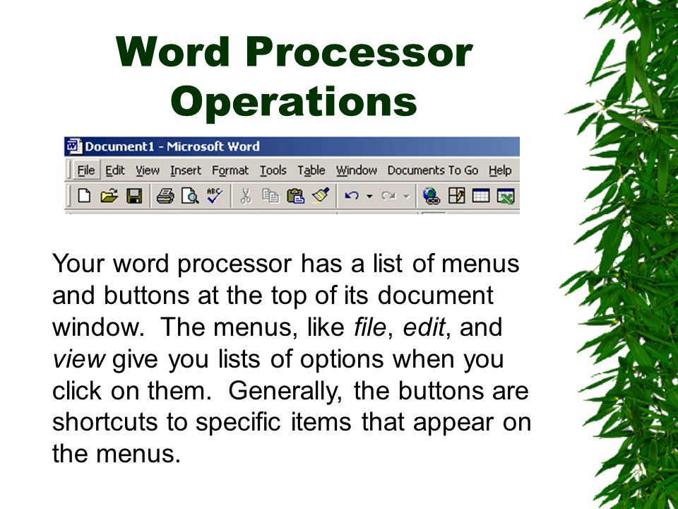 Spellcheck & Thesaurus To use the spellchecker, click tools-spelling and grammar.