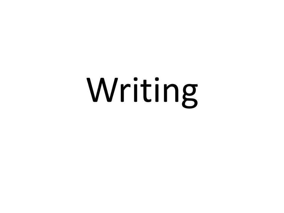 Writing Process Prewriting Drafting Revising Editing/Proofreading Publishing/Presenting