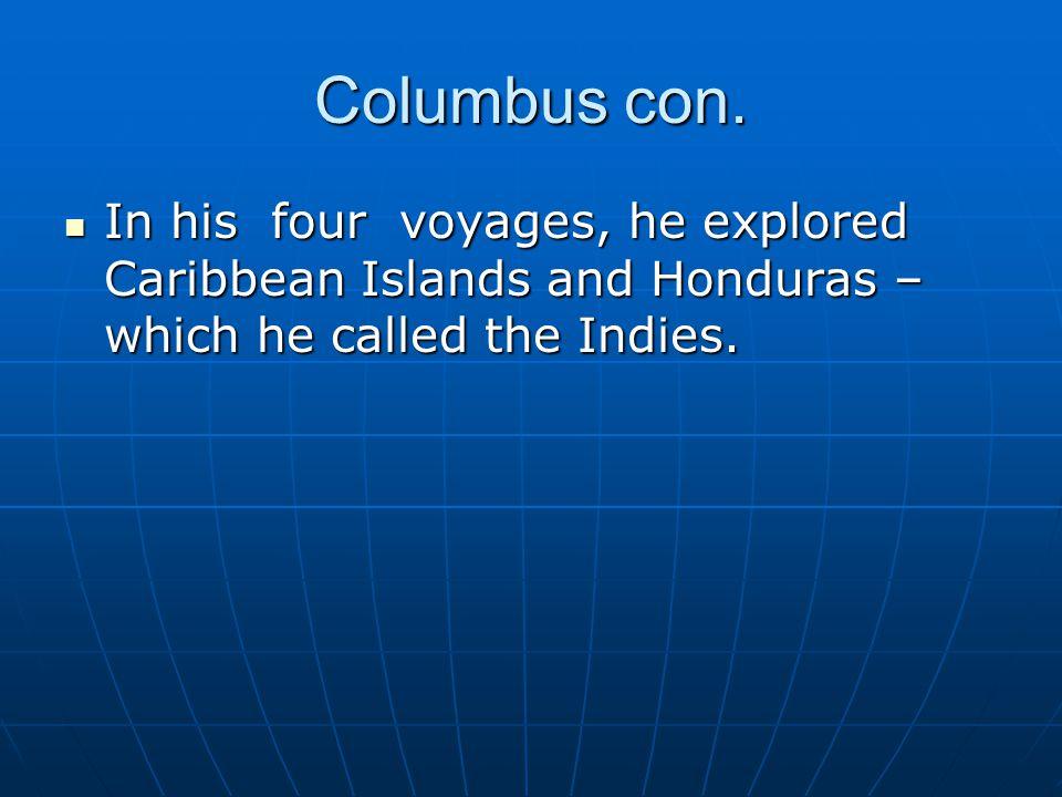 Columbus con.