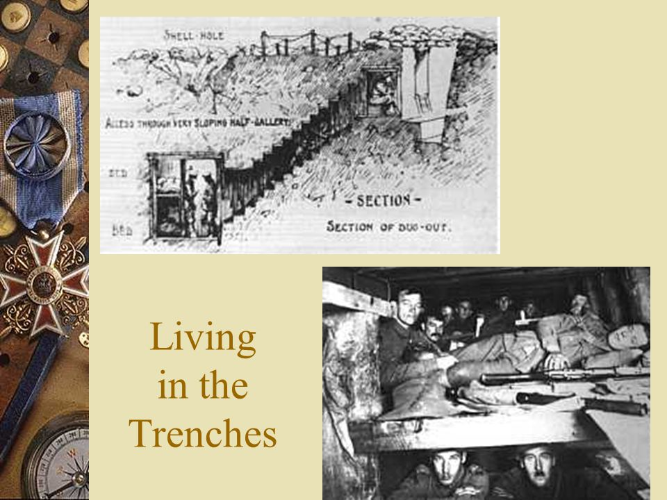  What type of fighting took place in WWI? – Trench Warfare