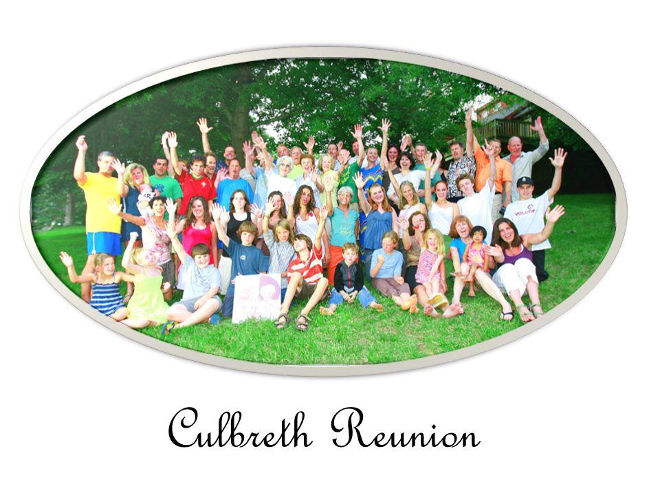 Culbreth Reunion
