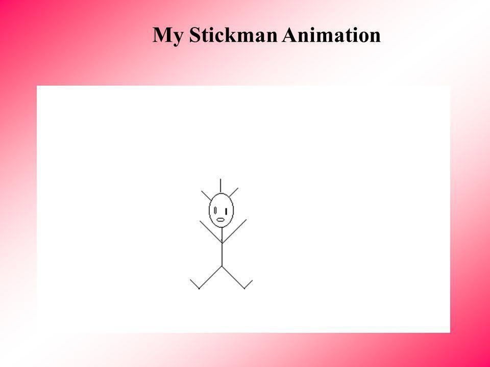 Computer 7 My Electronic portfolio Ambra Kithy My Stickman Animation