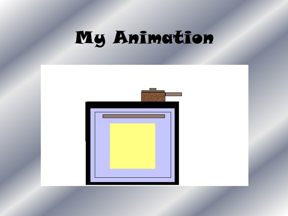 Animation I made an animation in Paint.