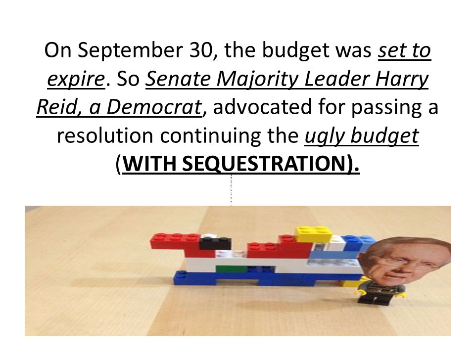On September 30, the budget was set to expire.