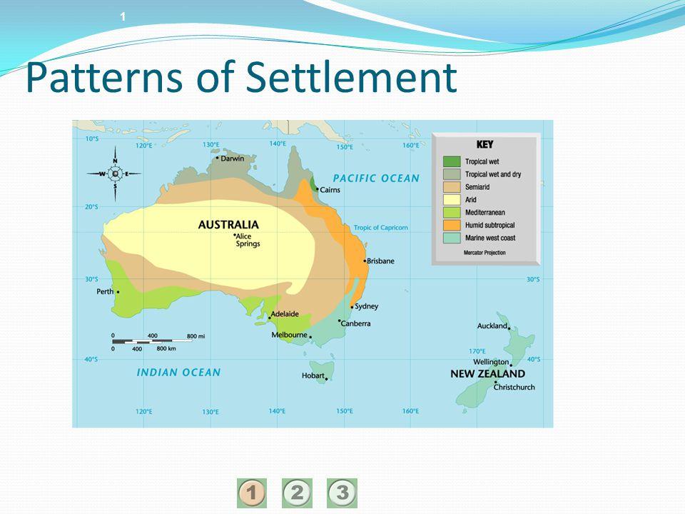 1 Patterns of Settlement