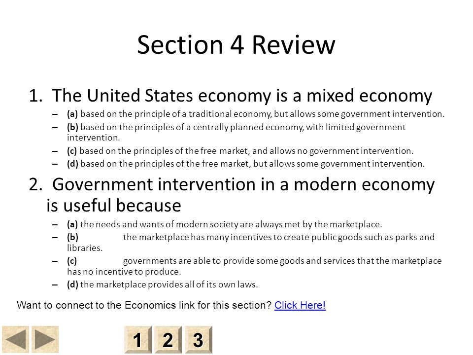 Section 4 Review 1.