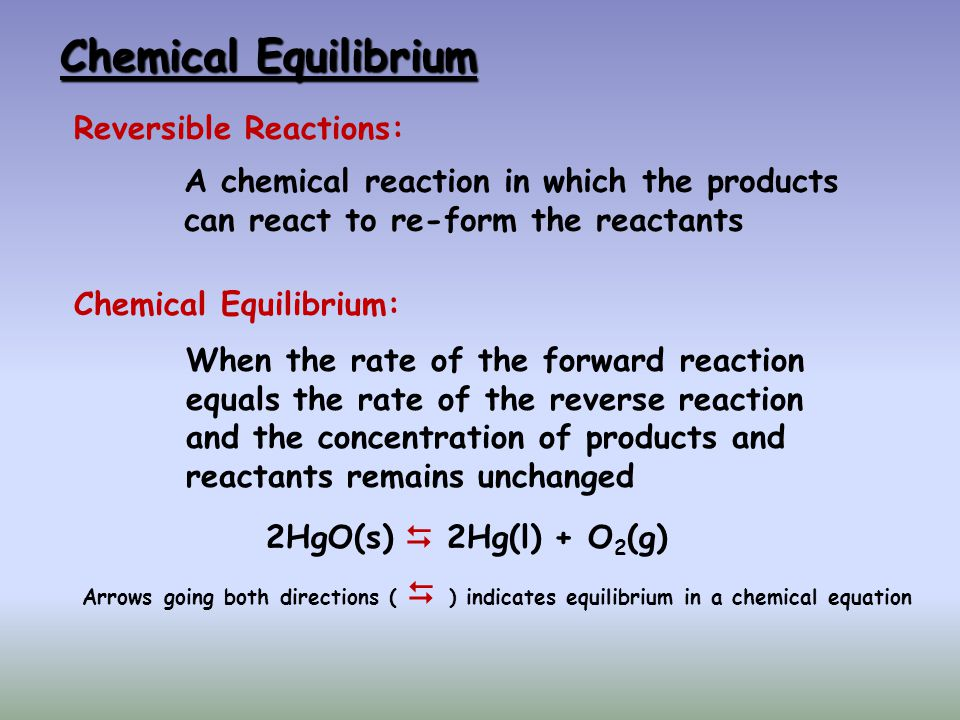 The Reaction Quotient Q K For some time, t, when the system is not at equilibrium, the reaction quotient, Q takes the place of K, the equilibrium constant, in the law of mass action.