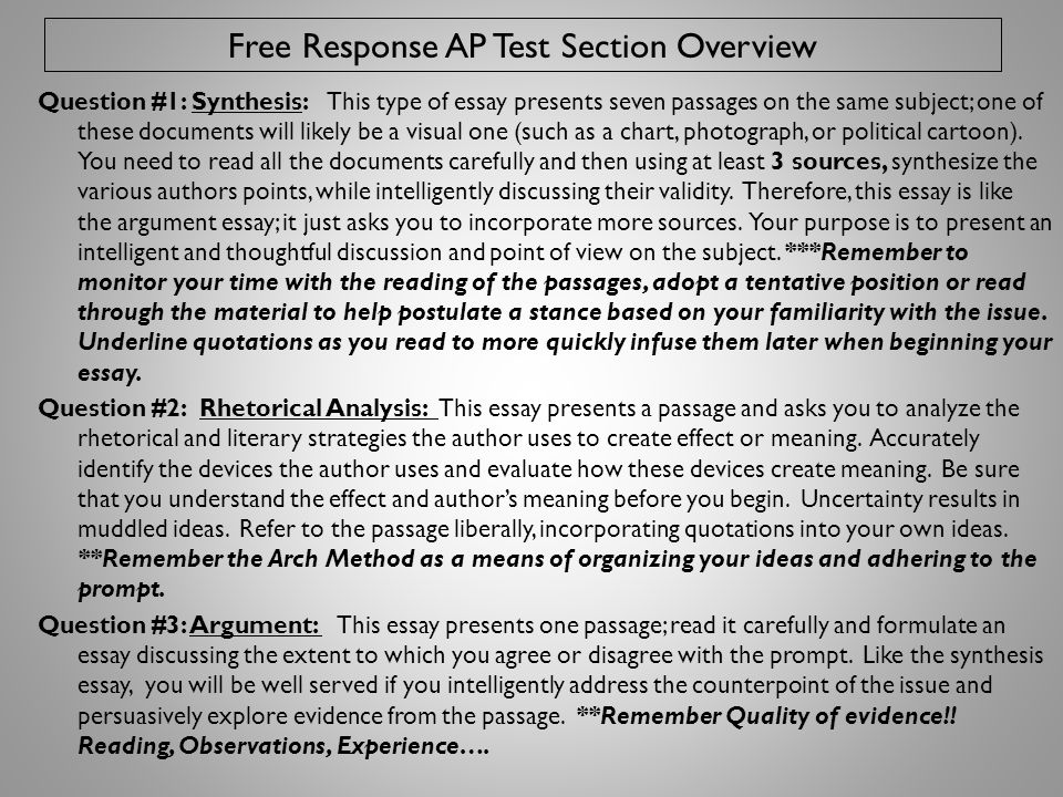 The AP Numbers Side by Side ESSAY SCORING GUIDETOTAL EXAM SCORES 9 = enhanced 85 = extremely well qualified 8 = effective4 = well qualified 7 = enhanced 63 = qualified 6 = adequate2 = possibly qualified 5 = uneven, superficial1 = no recommendation 4 = inadequate 3 = lesser 4 2 = little success 1 = lesser 2