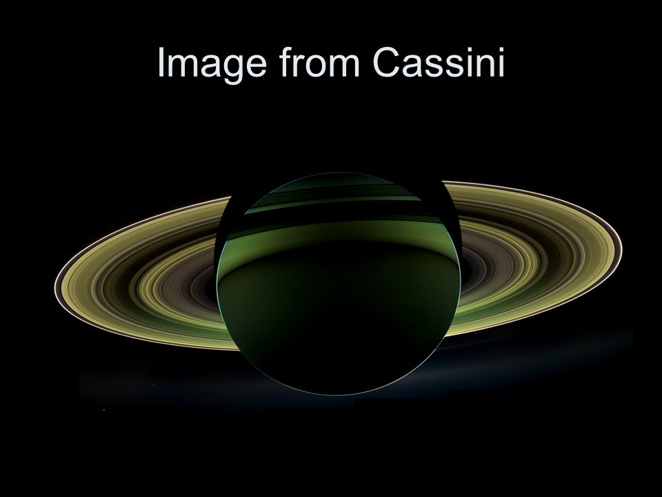 Image from Cassini