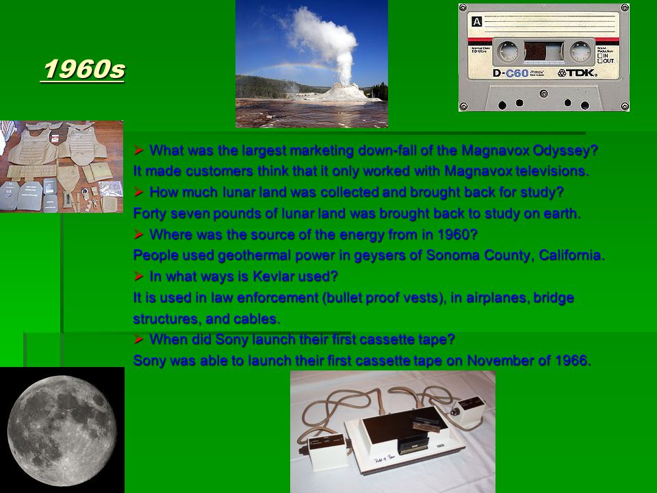 1960s  What was the largest marketing down-fall of the Magnavox Odyssey.