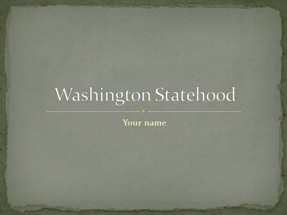 Include a map of Washington, insert important cities and landmarks if needed
