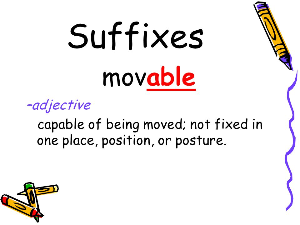 Suffixes -ism the act, state, or theory of magnetism