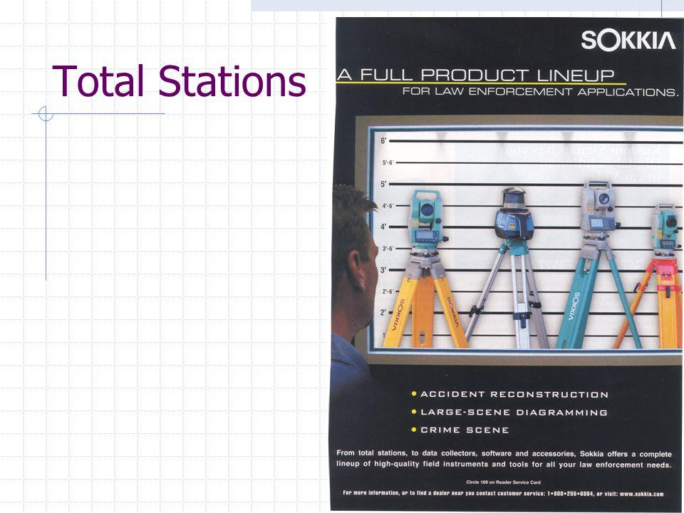 Laser Measurements Similar to a total station.