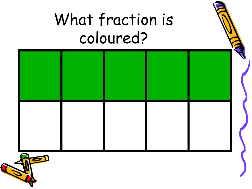 What fraction is coloured?