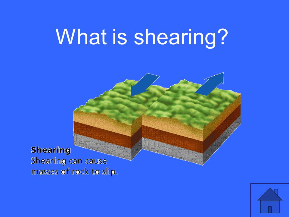 What is shearing