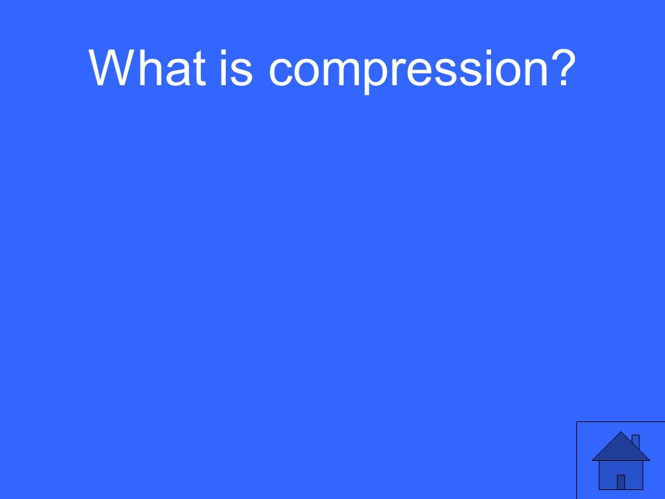 What is compression?