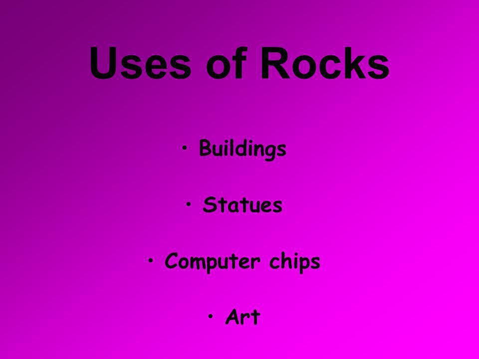 The Three Types of Rocks  Igneous Rock  Sedimentary Rock  Metamorphic Rock