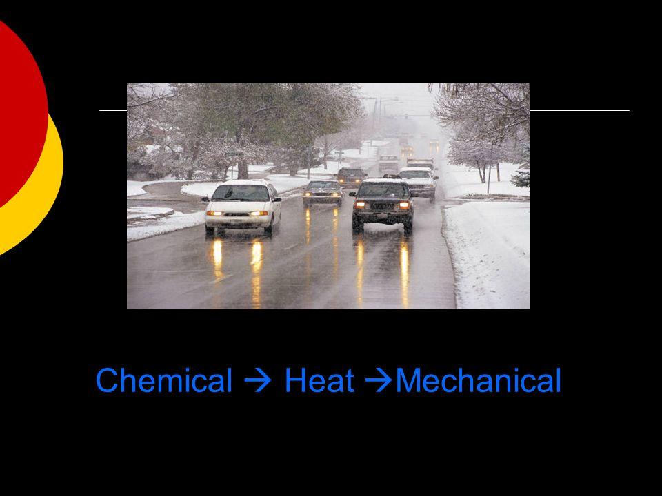 Chemical  Heat  Mechanical