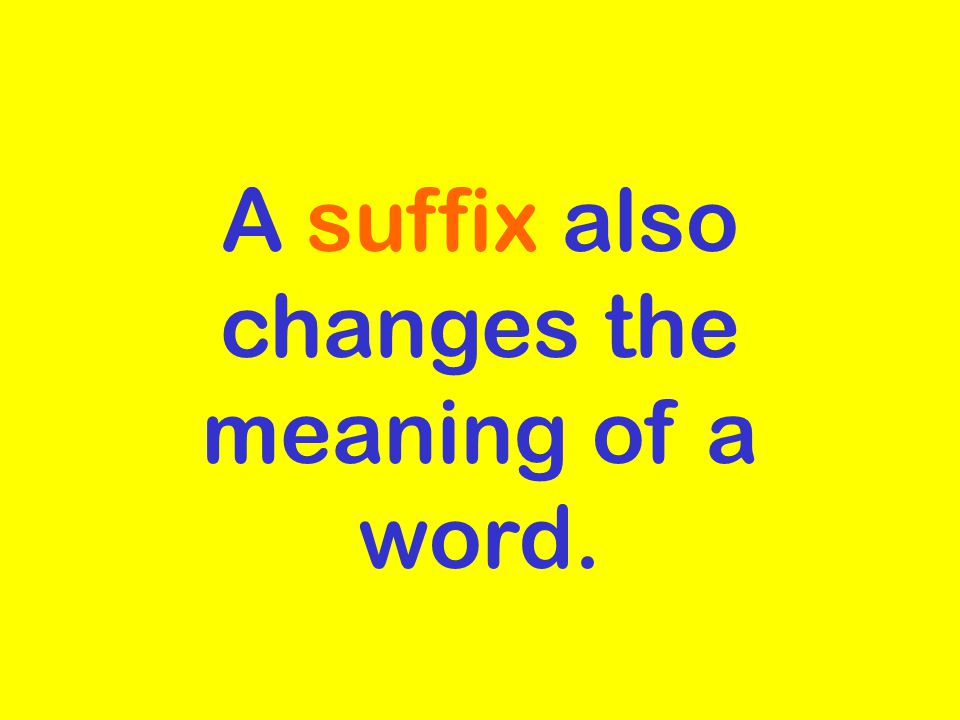 Prefixes We Know Examples un- not in- not re-again non- not dis- not or opposite of unhappy incomplete rewrite nonstop disagree