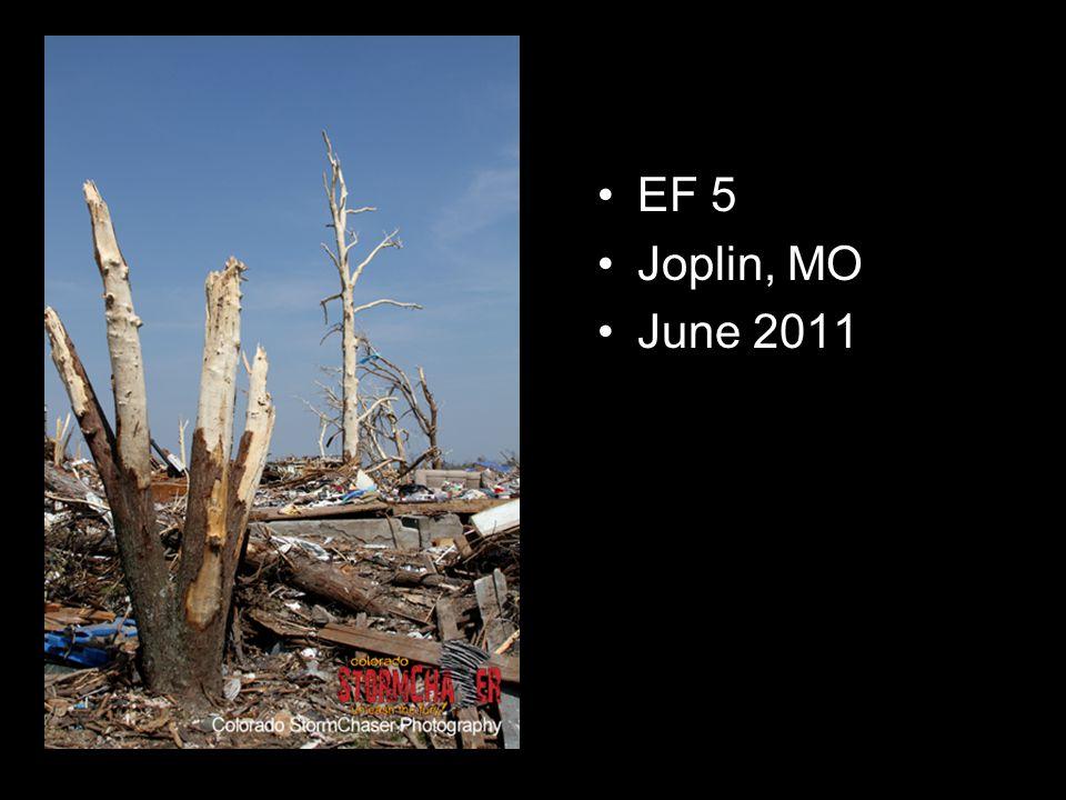 EF 5 Joplin, MO June 2011
