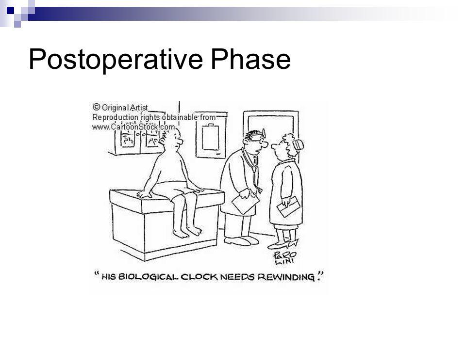 Postoperative Phase