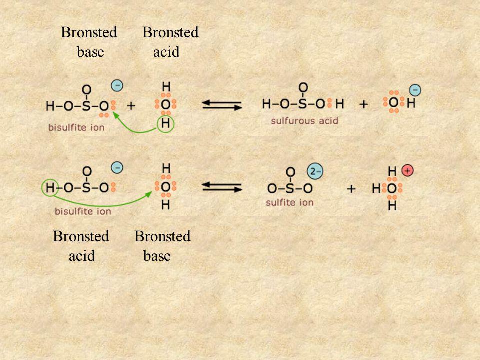 Bronsted base acid Bronsted acid base