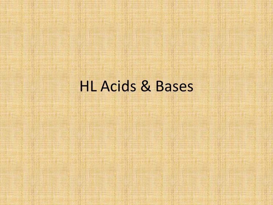 HL Acids & Bases