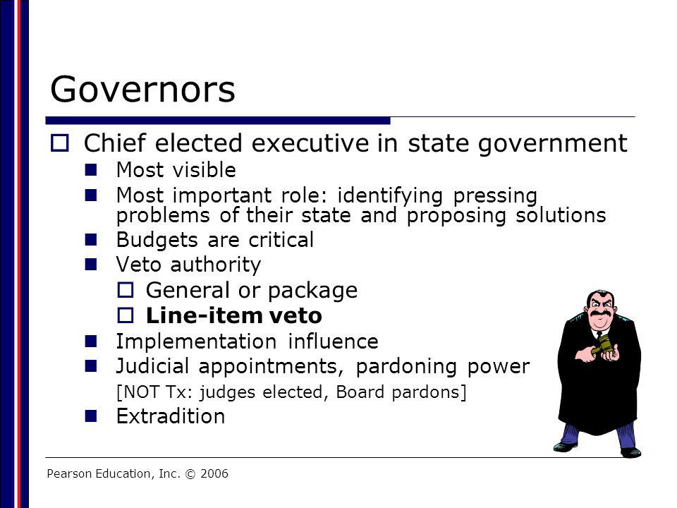 Pearson Education, Inc. © 2006 Organizational Chart: City of White Oak (Weak Mayor)