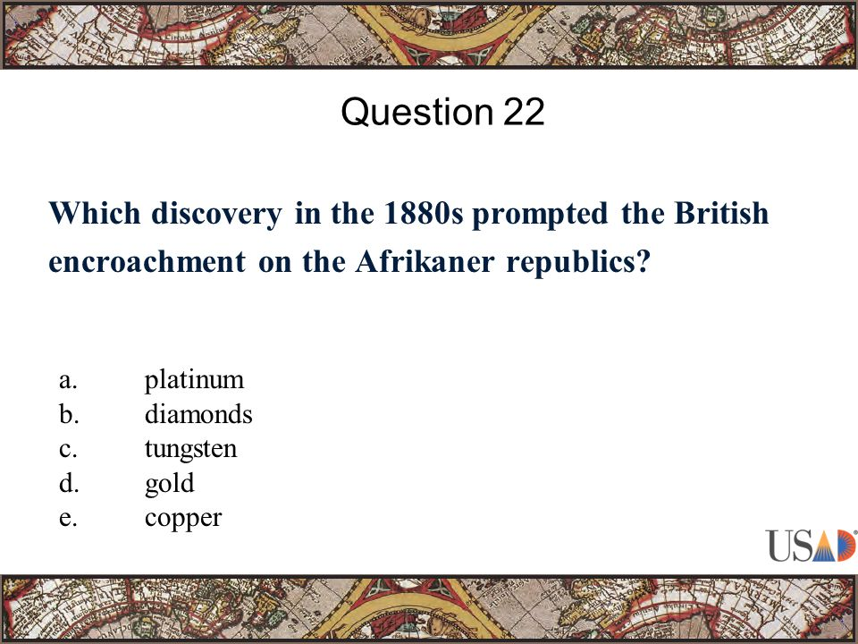 Which discovery in the 1880s prompted the British encroachment on the Afrikaner republics.