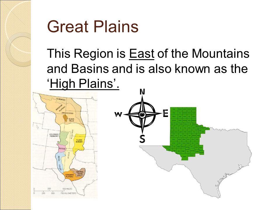 Great Plains Physical Characteristics o Canyons o Plateaus o Plains o Flowing Rivers