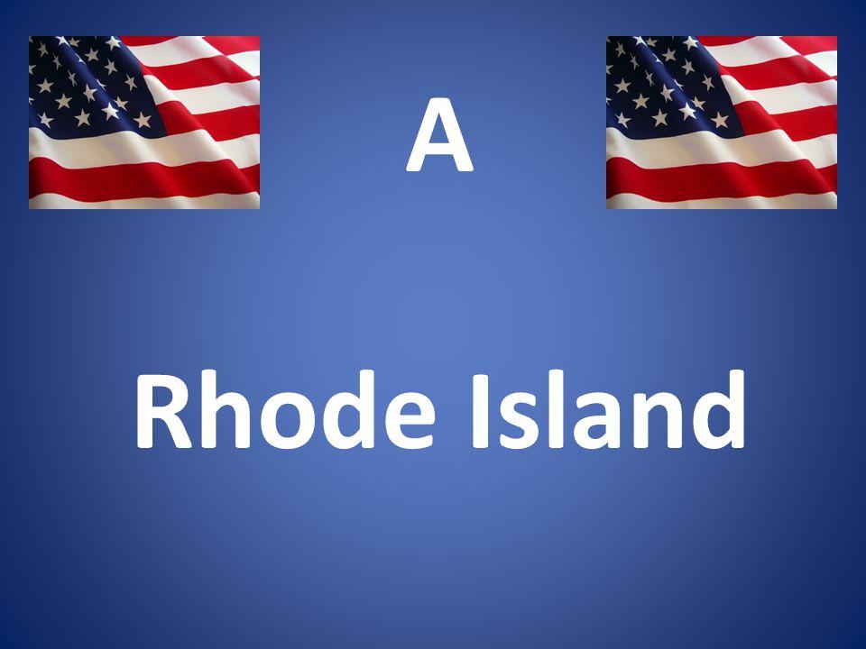A Rhode Island