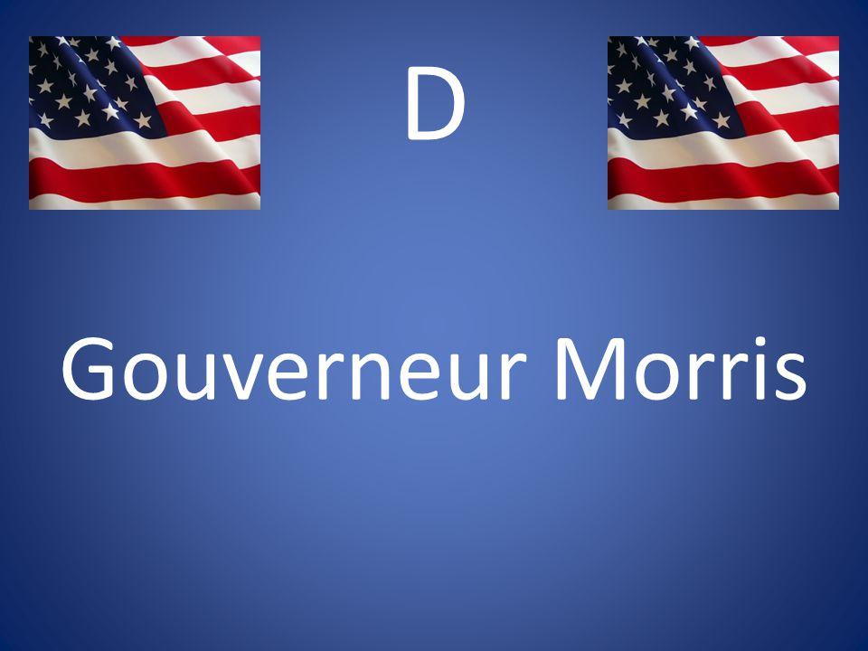 D Gouverneur Morris