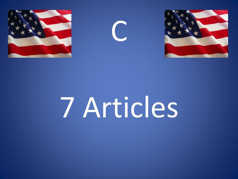 C 7 Articles