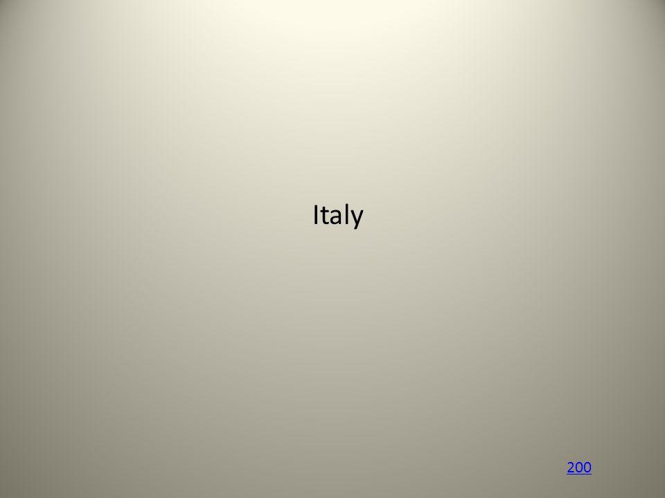 Italy 200