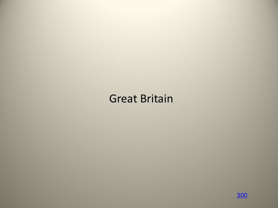 Great Britain 300