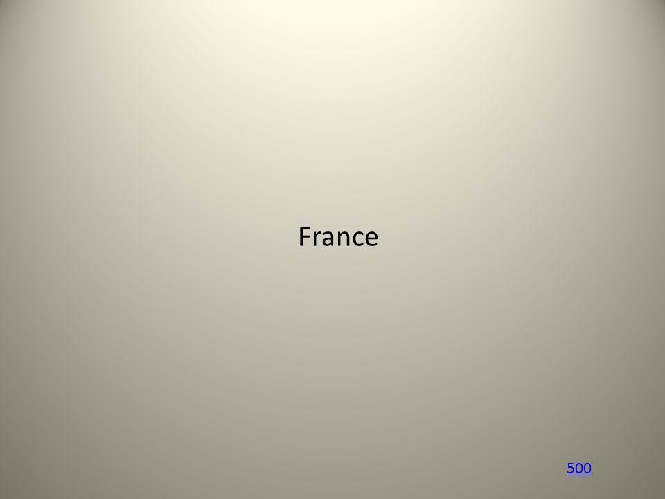 France 500