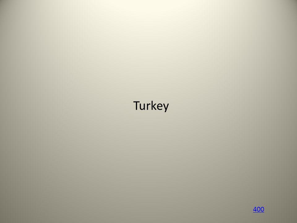 Turkey 400