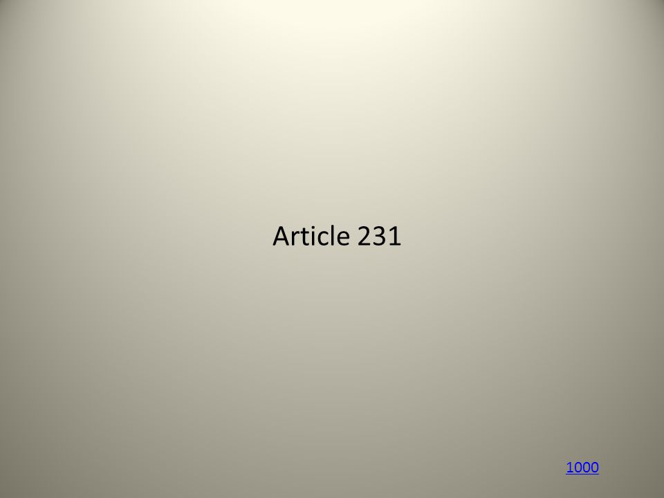 Article 231 1000