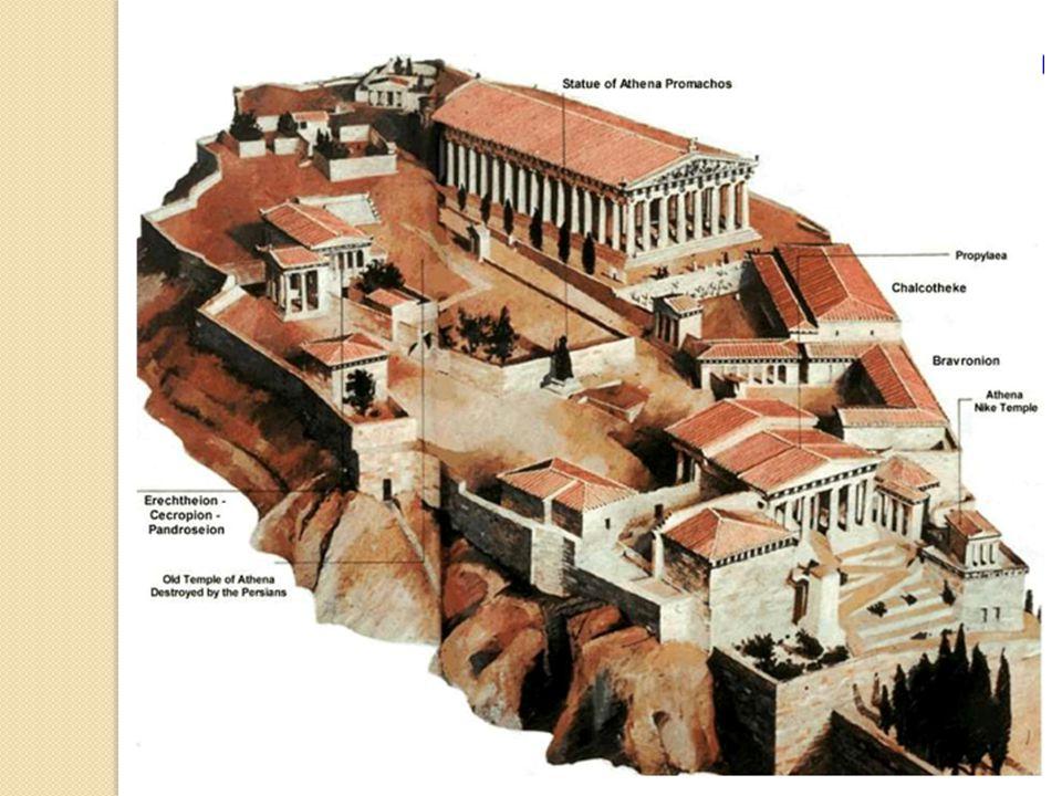 The Parthenon 449 B.C.– Pericles asked sculptor Phidas to rebuild the Acropolis.