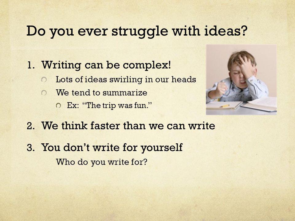 Writing Class vs.