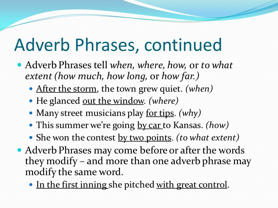 Verbals & Verbal Phrases THE PARTICIPLE A Participle is a verb form that can be used as an adjective.